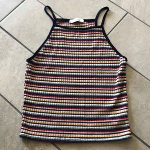 Striped Crop Top (Junior Size)